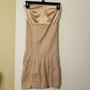 Spanx Slimmer and Shine nude control garmet